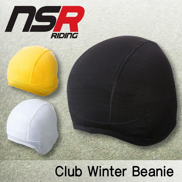 [NSR] 클럽 윈터비니 / 겨울용 기모 비니 / CLUB WINTER BEANIE