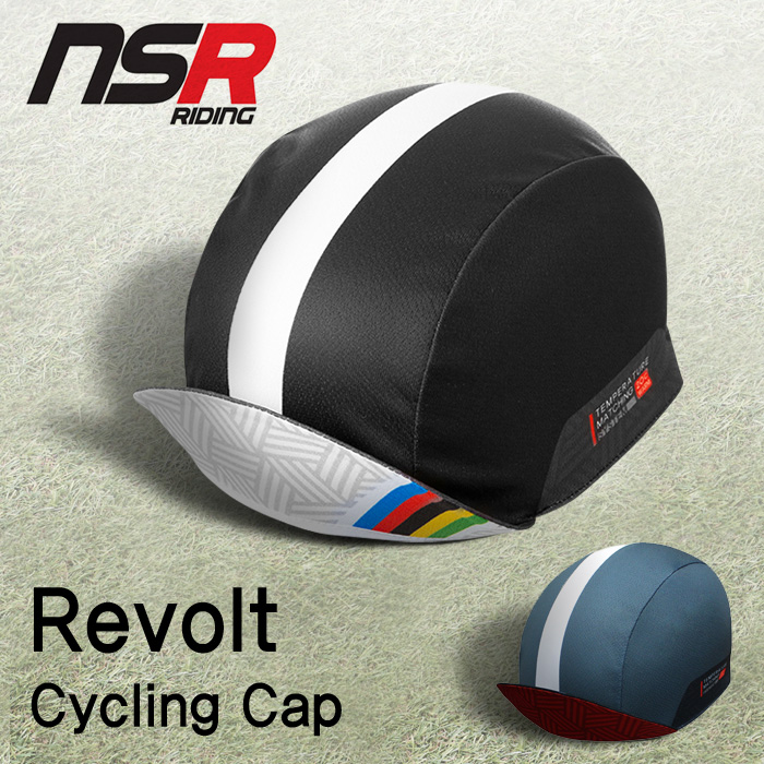NSR Revolt Cap 리볼트 싸이클링 캡 자전거 쪽모자 조각모 자전거모자